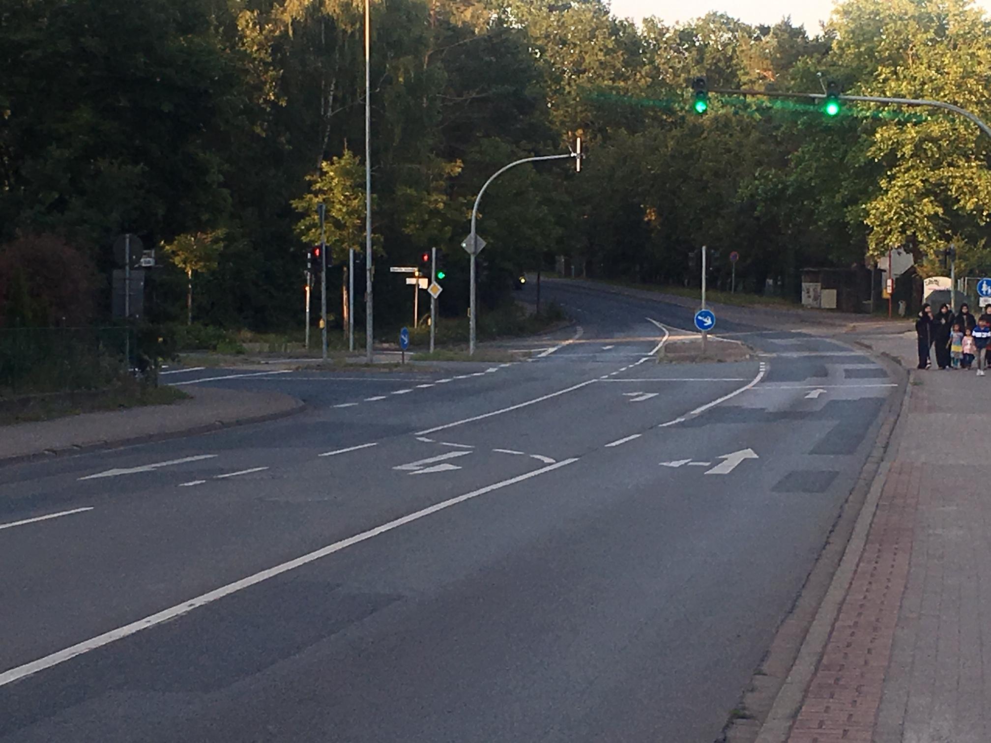 Kreuzung Bremer Straße